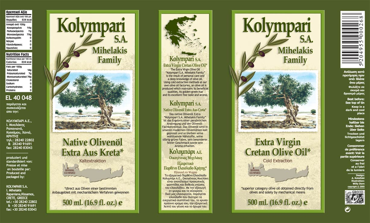 Kolympari Sa Kolympari Sa Cretan Olive Oil Producer
